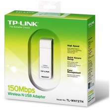 TP-LINK TL-WN727N 150 Mbps N Kablosuz WPS USB Adaptör
