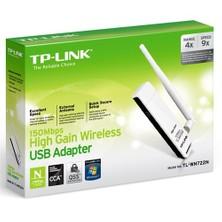 TP-LINK TL-WN722N 150 Mbps N Kablosuz Yüksek Kazanımlı 4dBi Değiştirilebilir Antenli WPS USB Adaptör