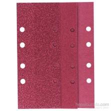 Bosch - Titreşimli Zımpara Kağıdı 10'Lu Set, 93 X 230 Mm 60/120/180 Kum 8 Delik