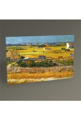 Tablo 360 Vincent Van Gogh-The Harvest Tablo 45X30