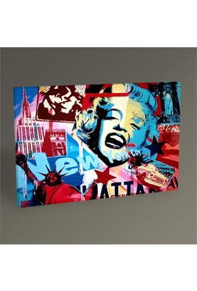 Tablo 360 Marilyn Monroe Souvenirs Tablo 45X30