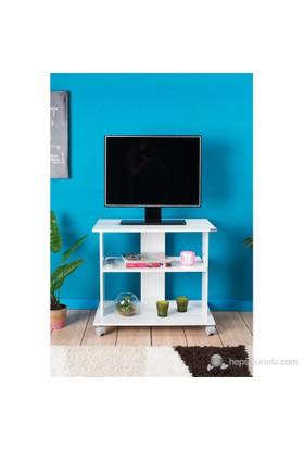 Adore Süper Multimedya Tv Kabini ( Parlak Beyaz )