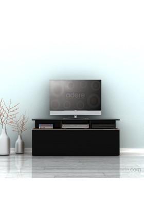 Adore Vision Çekmeceli Tv Sehpası Noce-Siyah 117X48x40 Cm