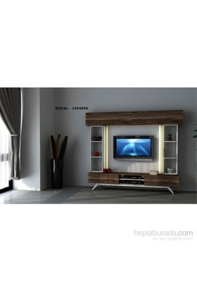 Hayal Tv Ünitesi 1244556 Leon Ceviz/Parlak Beyaz