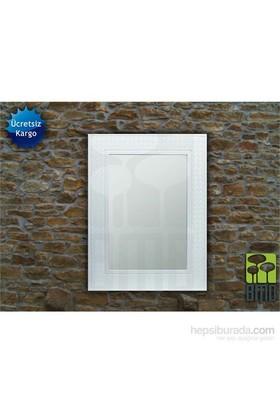 Bmd Mobilya Dekoratif Ayna 5 Beyaz