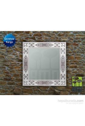 Bmd Mobilya Dekoratif Ayna 10 Beyaz
