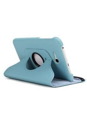 Teleplus Samsung Galaxy Tab 3 Lite 360 Dönen Kılıf Mavi