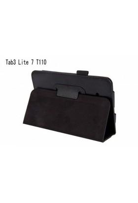 Teleplus Samsung Galaxy Tab 3 Lite Standlı Kılıf Siyah