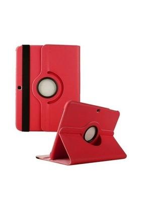 Teleplus Samsung Galaxy Tab 4 10.1 Standlı Kılıf Kırmızı