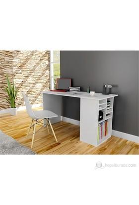 Hepsiburada Home Akasya Bilgisayar ve Çalışma Masası - Beyaz