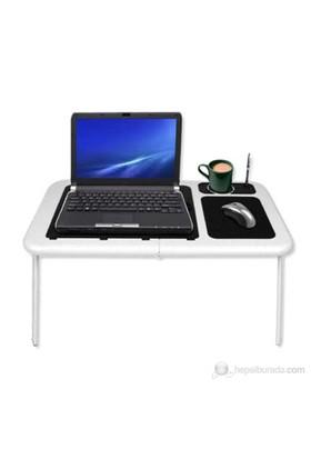 Hepsiburada Home Portatif Katlanabilir Soğutuculu Laptop Sehpası