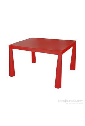 Hepsiburada Home Mini Çocuk Masası Kırmızı