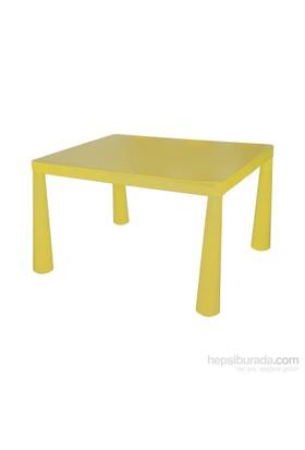 Hepsiburada Home Mini Çocuk Masası Sarı