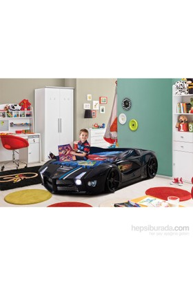 FastBack Arabalı Yatak Siyah