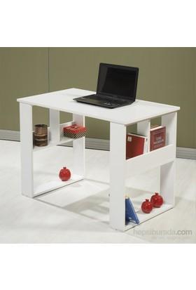 Dessenti Cumba Çalışma Masası Risa - Beyaz