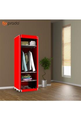 Prado Slim Fit Varyant Bez Dolap Kırmızı