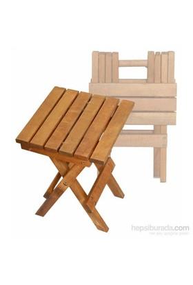 Lüx Katlanır Ahşap Sandalye-4 Adet
