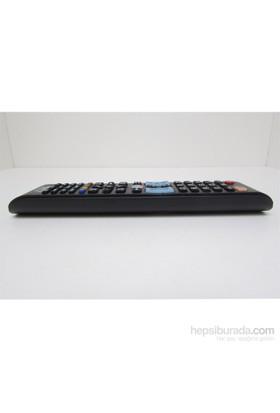 Huayu LED/LCD TV'ler için uzaktan kumanda Samsung marka uyumlu + Pil hediyeli