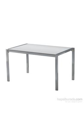 Sedef Masa 120 cm Beyaz