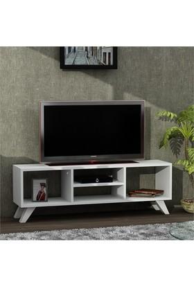 Dekorister Yaren Tv Sehpası Beyaz