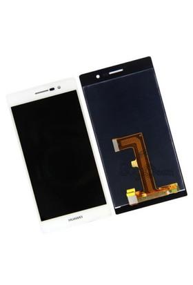 Huawei Ascend P7 Dokunmatik Lcd Ekran Beyaz