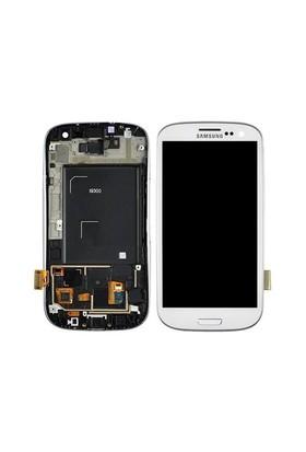 Galaxy S3 Lcd Ekran Dokunmatik Panel Beyaz