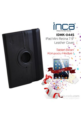 Inca IDMK-044S Darkshark Siyah iPad Mini Retina Kılıfı (IDMK-044S)