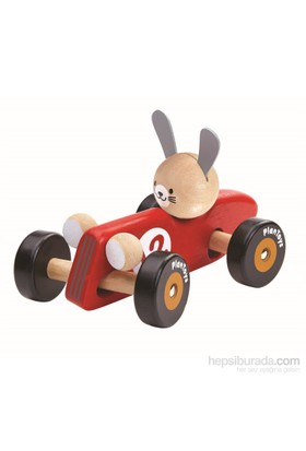 Plantoys Tavşan Yarış Arabası (Rabbit Racing Car)