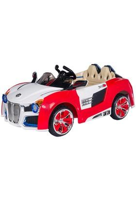 Baby2go Akülü Uzaktan Kumandalı Araba Kırmızı