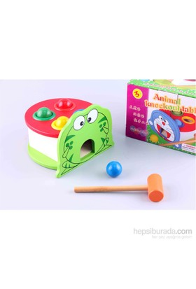 Wooden Toys Wooden Toys Animal Knocks The Ball Series