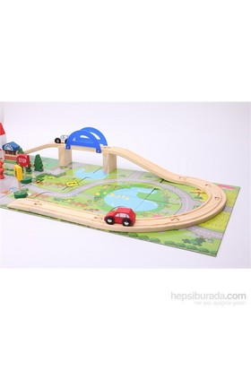 Wooden Toys Orbit Flyover 40pcs