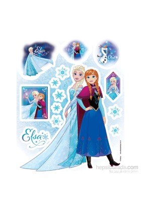 Artikel Fosforlu 19 Cm Duvar Stickeri Frozen FS-202