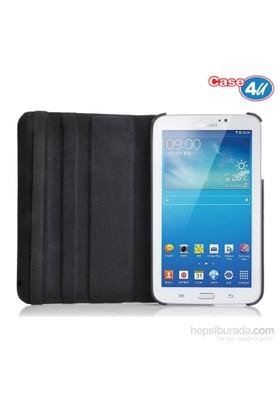 """Case 4U Samsung Galaxy Tab SM-T310 8"""" 360° Dönebilen Siyah Kılıf"""