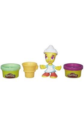 Play-Doh Town Dondurmacı Kız Figür Ve Hamur Seti B5978