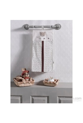 Kidboo Cute Bear Çamaşır Torbası / Beige