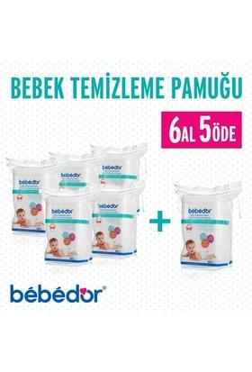 Bebedor Bebek Temizleme Pamuğu 6 Al 5 Öde