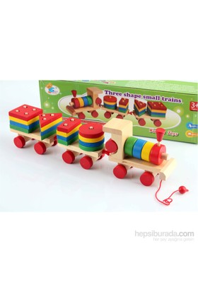 Learning Toys Three Shape Small Trains