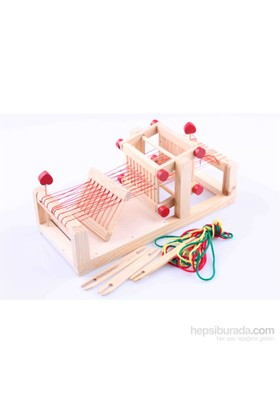 Learning Toys Wooden Loom Set