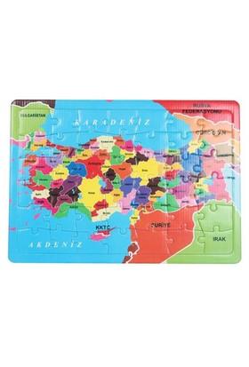 Uygun Puzzle 42 Parça Türkiye Haritası Yap Boz
