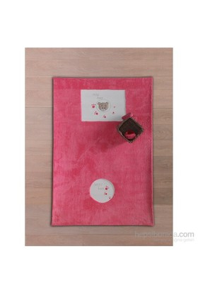 Kidboo Cute Bear 120X180 Halı / Pink