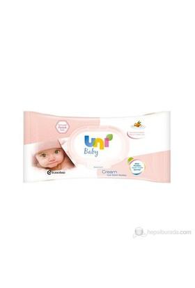 Uni Baby Cream Islak Havlu / 56'lı