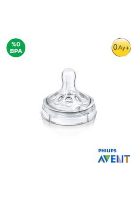 Philips Avent SCF651/27 Natural Yenidoğan 2'li Biberon Emziği ( 0m+) / 1 Delik
