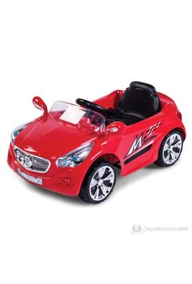 Baby2go 9325 Uzaktan Kumandalı Akülü Araba / Kırmızı