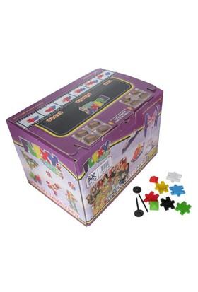 Akçiçek Flexy Tangles 500 Parça Karton Kutuda