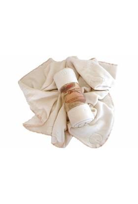 Babyneo Organik Pamuk Fleece Battaniye Naturel