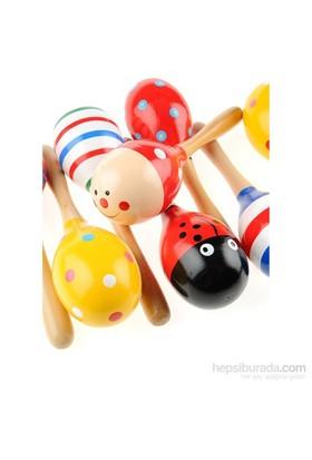 Learning Toys 3'lü Ahşap Marakas Seti