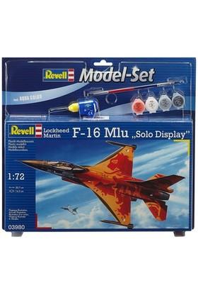 Revell Model Set F-16 Mlu Solo 63980