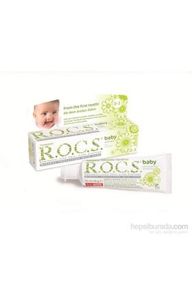 Rocs Baby 0-3 Yaş Papatya Özlü Diş Macunu