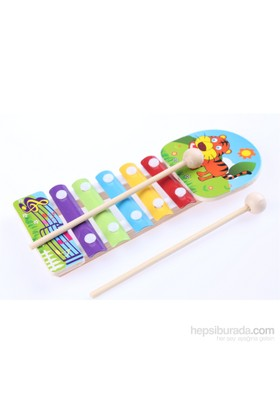 Wooden Toys Animal Knock Xylophone