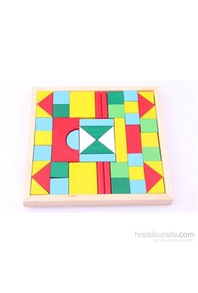 Wooden Toys Ahşap Renkli Tangram